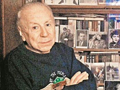 Друг актрисы Николай Ларин