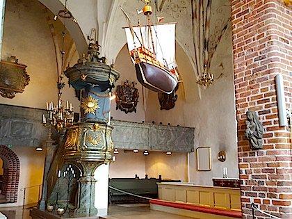 Убранство Кафедрального собора изнутри