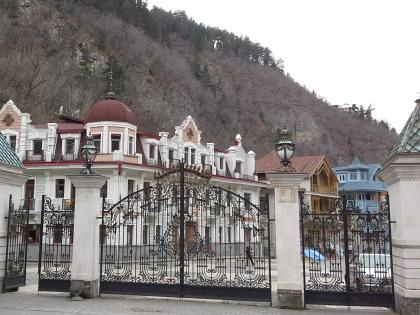 Боржоми - это не только минеральная вода, это еще и курорт в Грузии