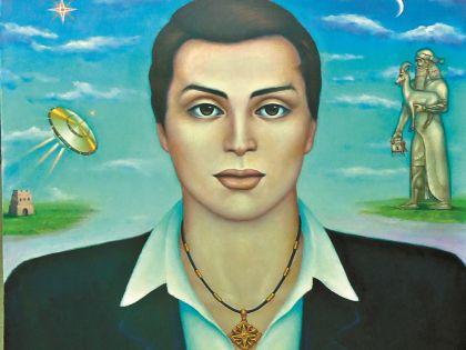 Эти картины нарисовала Давиташвили. Люди, изображенные здесь, очень напоминают саму ведунью и ее погибшего сына