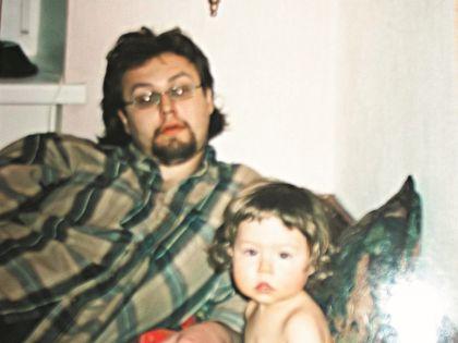 Борис Ливанов с дочерью Евой