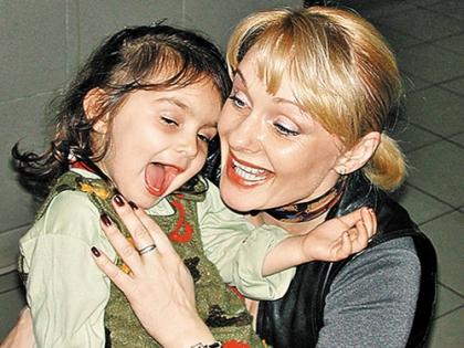 Ирина Цывина с дочерью Зоей