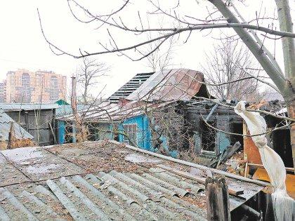 Пожар в этом доме случился сразу после того, как хозяйка пошла в суд