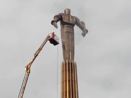 Памятник Гагарину на Ленинском проспекте
