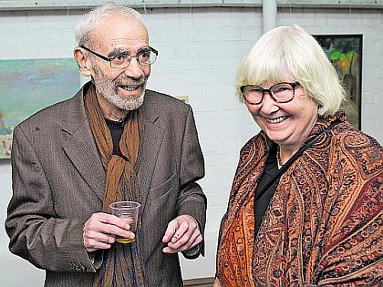 Гарри Гордон с супругой