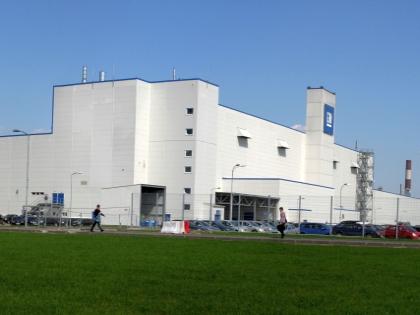 Завод General Motors под Санкт-Петербургом