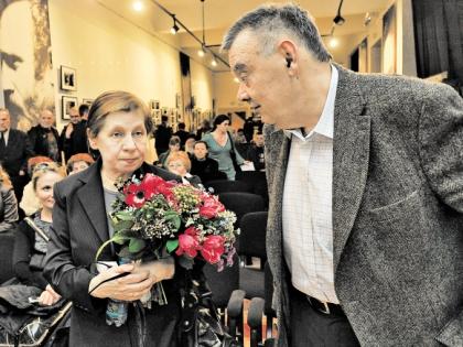 Светлана Кармалита и Алексей Герман-старший