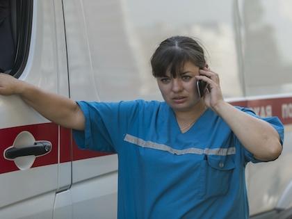 Врачи приняли решение госпитализировать замерзшую пострадавшую