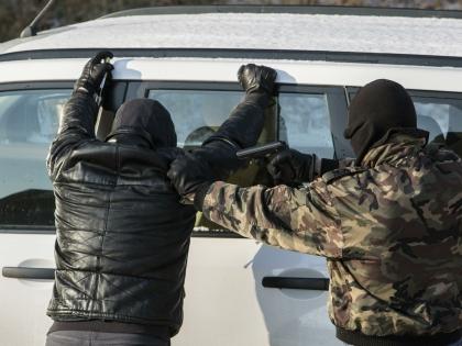 У задержанного изъяли часть похищенных денег