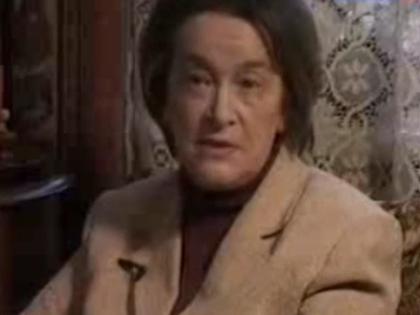 Внучка сестры Любови Орловой Нонна Голикова
