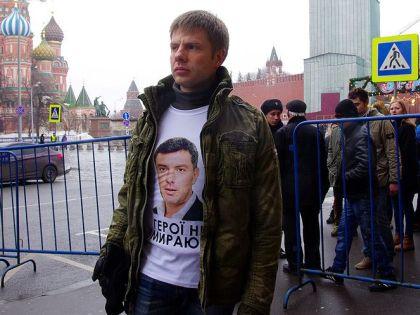 Гончаренко утверждает, что его схватили «из-за футболки»