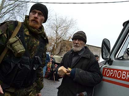 По информации украинской стороны, с момента наступления перемирия повстанцы произвели 112 обстрелов