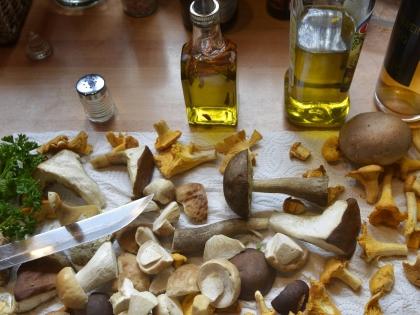 Готовить грибы просто