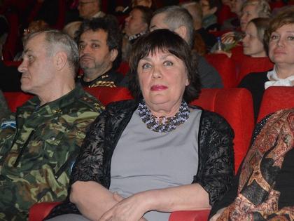 Валерия Гущина поблагодарила вдову Жженова Лидию Малюкову