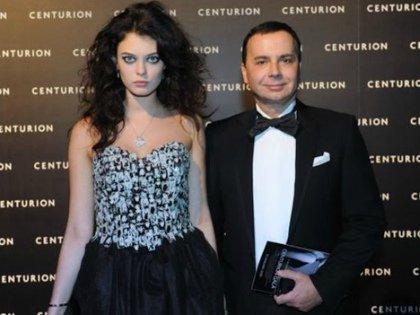 Лиза Адаменко с супругом
