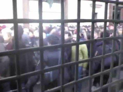 По итогам акции «Он вам не Димон» в столичные спецприемники были доставлены более 60 человек