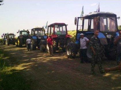 Кубанских фермеров не пустили в Москву