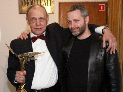 С отцом – мультипликатором Гарри Бардиным