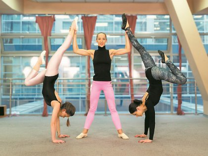 «Я добилась звания мастера спорта и закончила спортивную карьеру, начала преподавать гимнастику в зале, в котором выросла сама...»
