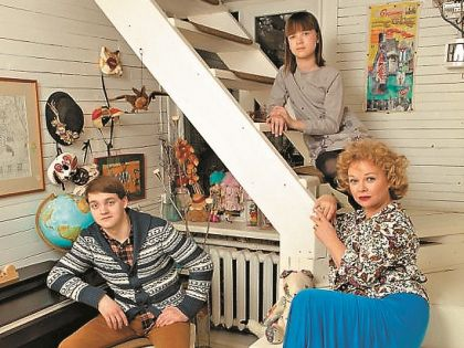 Актриса до сих пор живет с детьми в съемном доме
