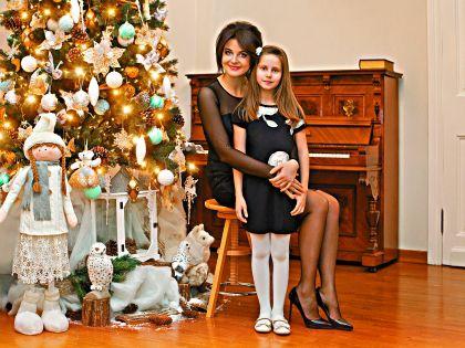 Наталия Власова с дочерью