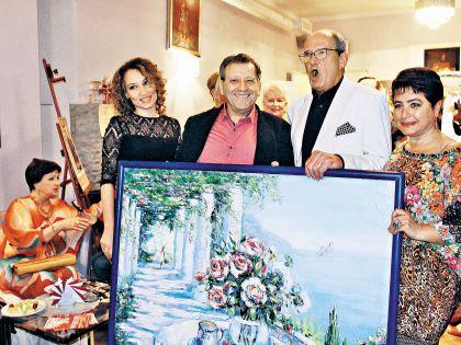 Грачевский подарил Эммануилу Гедеоновичу огромную картину