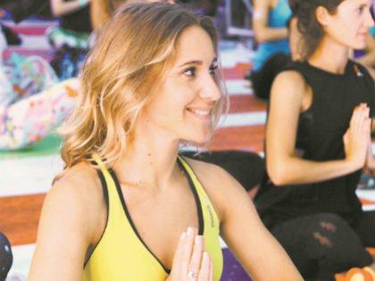 «От йоги получила массу позитивных эмоций...»