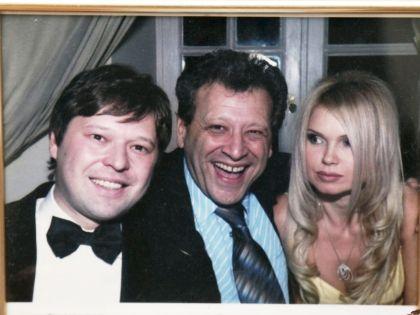 Грачевский с сыном и дочерью