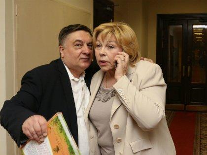 Андрей Туманов и Елена Драпеко