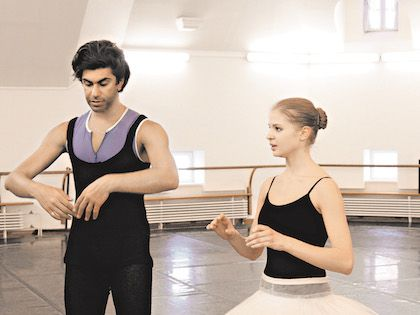 2011 год. В репетиционном зале Большого театра с «роковой» Анжелиной Воронцовой