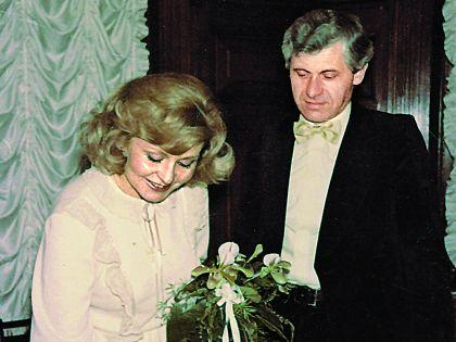 Ангелина Вовк со вторым мужем Индржихом