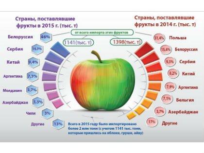 У кого покупаем яблоки, груши и айву