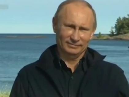 Владимир Путин всплыл в Черном море