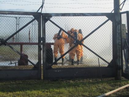 В Воронежской области произошел выброс 5 тонн аммиака