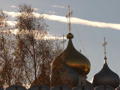 О пожаре в Новодевичьем монастыре стало известно 15 марта в 22:41