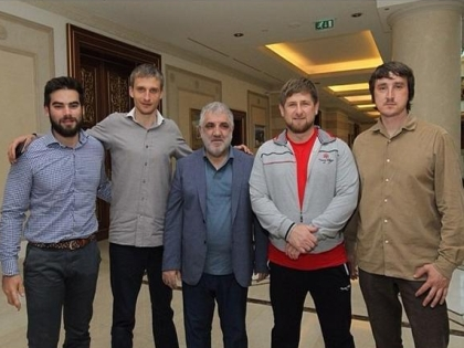 Рамзан Кадыров, Олег Сидякин и Марат Сайченко