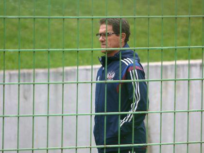 Главный тренер сборной России по футболу Фабио Капелло