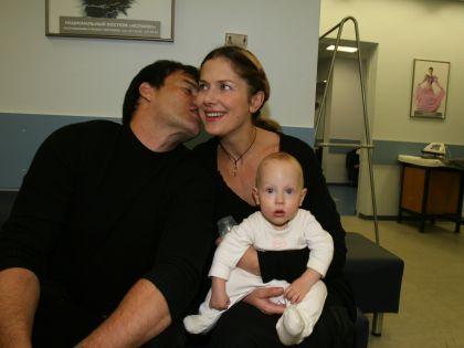 C женой и дочерью