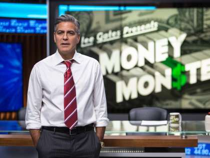 """Джордж Клуни в роли Ли Гейтса в фильме Джоди Фостер """"Финансовый монстр"""""""