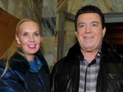 Иосиф Кобзон со своей женой Нелли