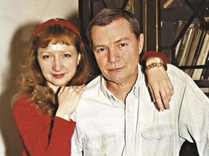 Лев Прыгунов с женой Ольгой
