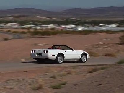 Chevrolet Corvette 1992 года