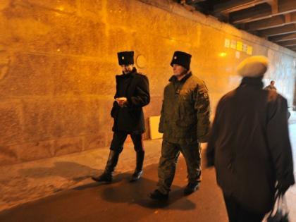 Казаки будут патрулировать московские дворы