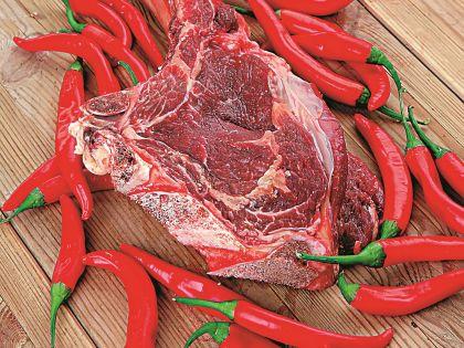 Пример продуктов для красной диеты