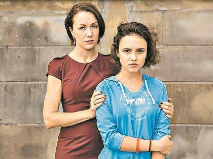 В сериале «Красные браслеты» Дарья сыграла маму девочки-подростка