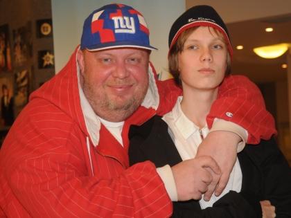 Сергей Крылов с сыном
