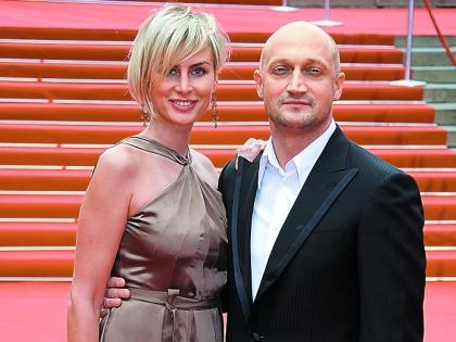 Гоша Куценко с женой