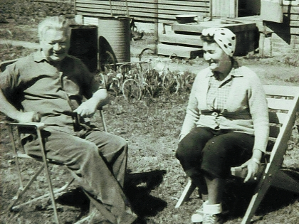 Анатолий Кубацкий с женой
