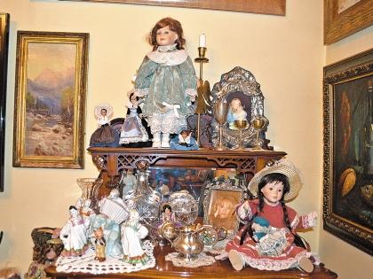 Коллекция кукол едва помещается в квартире Цывиной