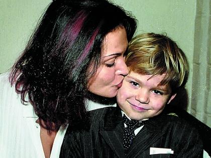 Сын Натальи Дима (на фото) уехал в Россию